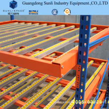 Steel Roller Warehouse Self Slide Carton Flow Storage Rack