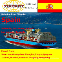 Sea Freight Container Shipping From China to Spain.