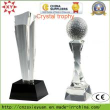 Trophée en cristal personnalisé pour les sports
