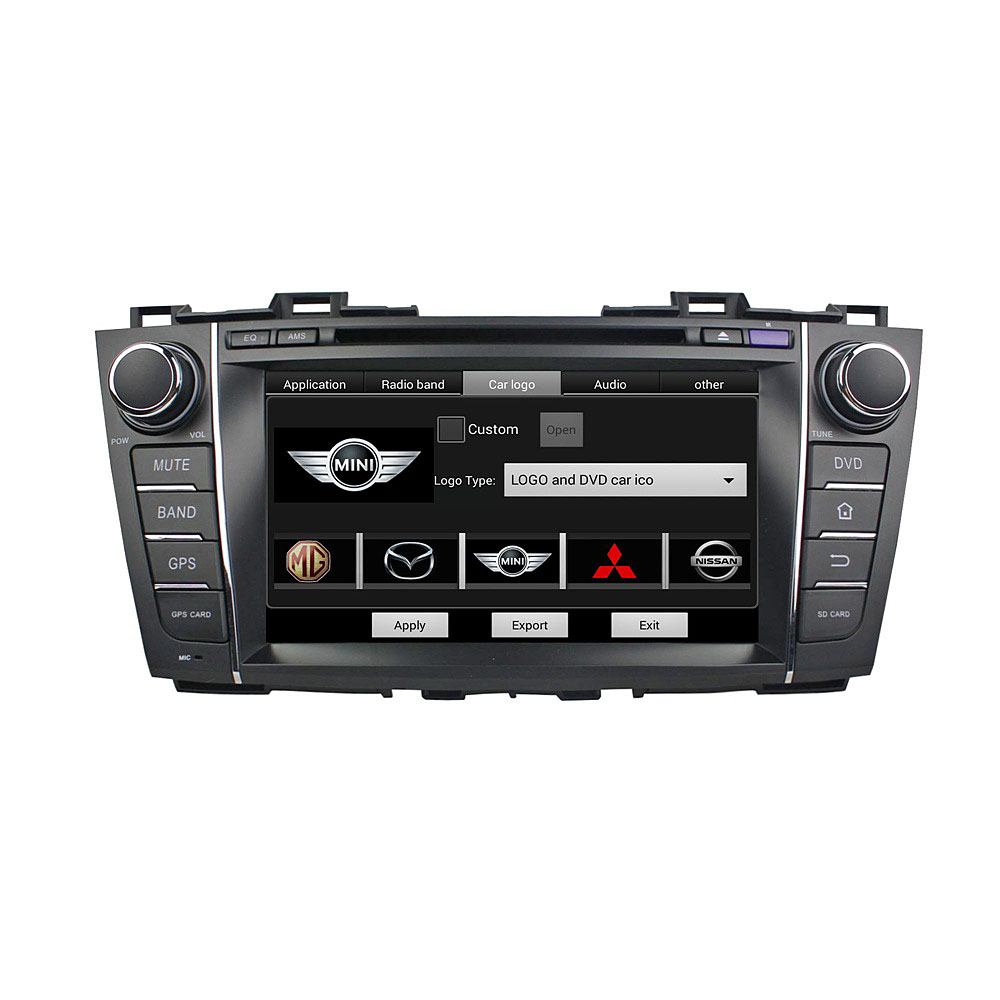 Mazda 5 2009-2012 car dvd player