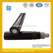 600 / 1000V monoconducteur en aluminium conducteur isolé XLPE câble neutre concentrique