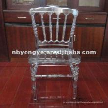 Chaise acrylique Napoléon