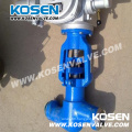 Electric Actuator Power Station Globe Valves