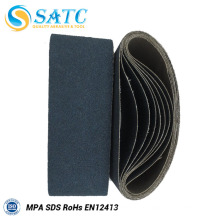 Grit 400 lixar cintos de alta qualidade baixo preço do fornecedor chinês