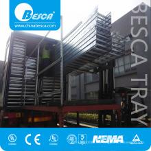 La inmersión en caliente al aire libre galvanizó la fábrica del proveedor de la escalera y de las bandejas del cable