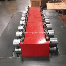 Metal sheet edge folding machine