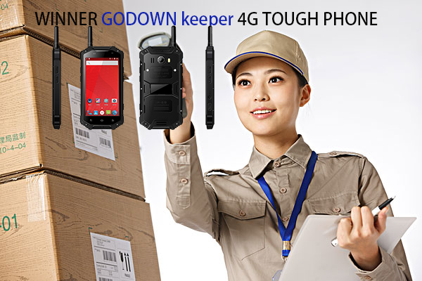 WINNER GODOWN keeper 4G TOUGH PHONE