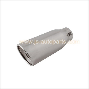INLET 2.875 OUTLET 4 SLANT CUT RESONATED EXHAUST TIP