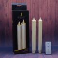 Battery Operated 8 Inch Moving Flame Taper Candle