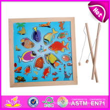 Kids Toy Wooden Fishing Toy for Baby W01A013