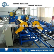 Different Profile Color Steel Sheet Roller Shutter Door Frame Roll Forming Machine With PLC Control System