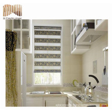 new style zebra spring loaded roller blind fabric for sale