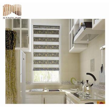 новый стиль зебра подпружиненные шторки ткань для продажи