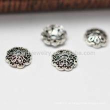 Silber Torus Vintage Perlen Zubehör 925 Sterling Silber SEF017