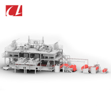 CL-SMMS PP Spunbond Meltblown Composite Nonwoven Fabric Making Machine for Hygiene Products