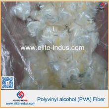 Fibres synthétiques de PVA pour la feuille de gaufrette sans amiante