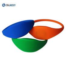 Различный Цвет силиконовые закрытого типа С50 1к 13.56 МГц RFID Браслет