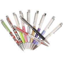 2015 mais quente promocional cutom logotipo metal caneta