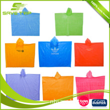 Wholesale Waterproof Disposable PE Adult Poncho