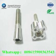 Kundenspezifische Aluminium-Druckguss-Hartschraube mit Spezialform-Kappe