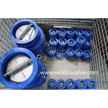 Válvula de retenção de placa dupla Tipo Wafer