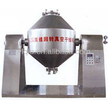 Double vacuum drying machine for organic seeds