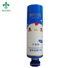 tubo del PE / tubo cosmético línea envases de plástico cosméticos envases de tubo de plásticos de crema