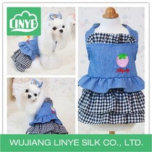 Fashion Favorites Cottonpet Plaid Dress For Dogs /pretty Summer Dog Clothes