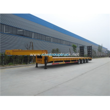 High quality 3 axls Container Flatbed Semi-Trailer