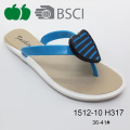 Низкая цена Pretty Summer Hot New Design Women Pcu Flip Flops