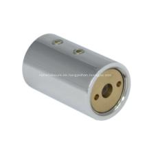 Conector de barra de soporte de mampara de ducha de montaje en pared redondo