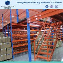 Heavy Duty Metal Decking Rack unterstützt Mezzanine
