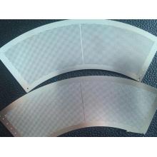 Filtro de grabado de malla metálica