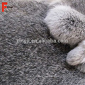 Piel de la piel de conejo de Chinchilla del pelo denso de la venta caliente 2017
