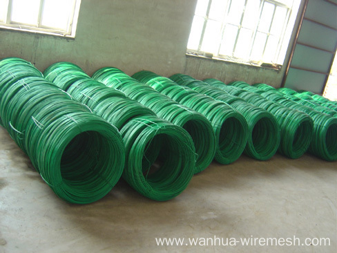 1.0mm PVC coated iron wire