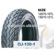 pneus de haute qualité à bas prix moto tubeless 130/70-12