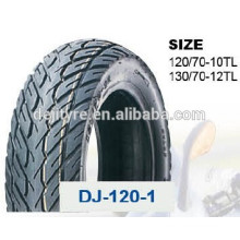 wholesale high quality tubeless motorcycle tires 130/70-12