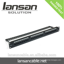 Cat5e UTP 24 ports patch panel