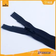 5 # Derlin Geschlossene Farbe Passen Sie Plastic Zipper für Pant ZP30001 an