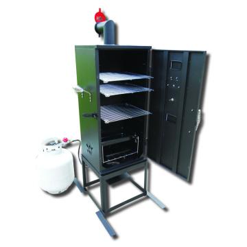 Fumador da grade do BBQ do gás da baixa pressão 34inch com CSA