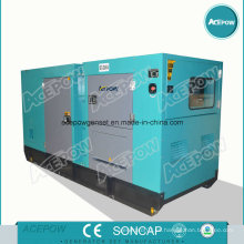 75kw Yuchai Soundproof Diesel Generator Set