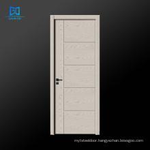 Wholesale wood veneer door simple design wood door interior doors for house GO-EG03