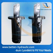 Cilindro hidráulico de encargo para la prensa hidráulica con el mejor precio para la venta