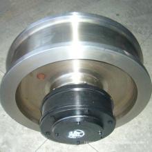 Professional produce Forged cast crane wheel