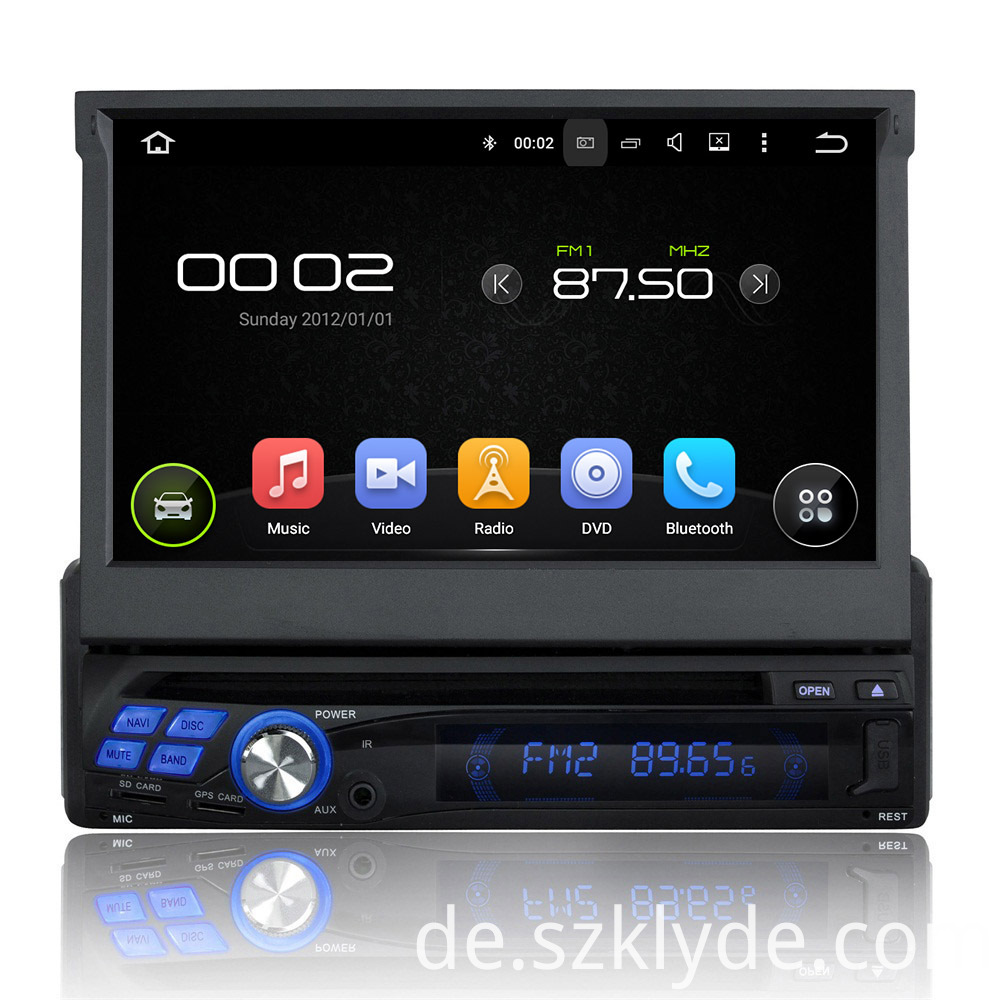 car dvd player for universal