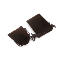 Wholesale stretch velvet drawstring jewelry bag