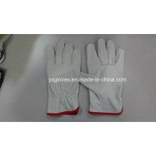 Driver Handschuh-Kuh Leder Handschuh-Schutz Handschuh-Gewicht Heben Handschuh