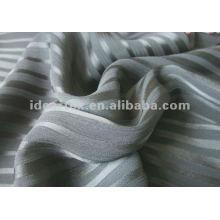 Polyester-Streifen Krepp-Chiffon für Lady Kleid
