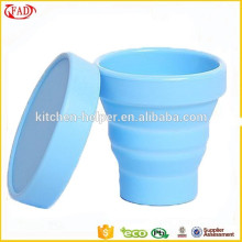 Novelty Design Heat Resistance Silicone Collapsible Cup