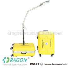 DW-PSL001 maleta tipo portátil LED luz de cirugía